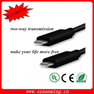 Cheap USB 3.1 Type-C Male to Type-C Male Cable pictures & photos