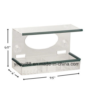 Large 100% Clear Acrylic Window Bird Feeder - Made of High Quality See Though Acrylic pictures & photos