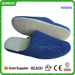 Cheap Winter Closed Toe Home Indoor Slippers (RW50734A)