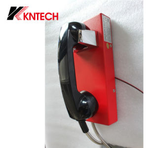 Security Telephone Flush/Wall Mounting Knzd-14 Auto Dail Emergency Phone Intercom pictures & photos