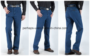 Wholesale Men′s Jeans Comfort Breathable Trousers pictures & photos
