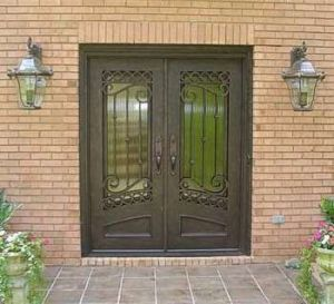 Hight Security Forged Metal Exterior Door Design for Villa (UID-D140) pictures & photos