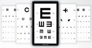 LCD Vision Chart Optometry Equipment pictures & photos
