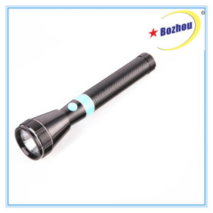 High Beem Torch 3W LED Rechargeable Flashlight pictures & photos