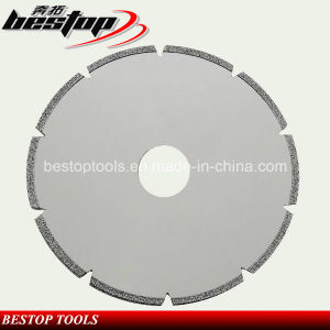 Electroplated Diamond Blade for Marble/Limestone/Onyx/Travertine Cutting pictures & photos