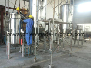High Efficient Factory Price Stainless Steel Industrial Fruit Juice Concentrator Vacuum Multi-Effect Forced Circulation Evaporator pictures & photos