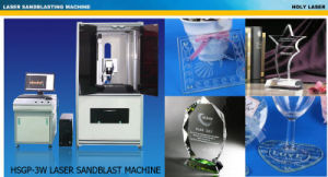 Laser Sandblasting Machine, Hot Sale (HSGP-7W/10W) pictures & photos