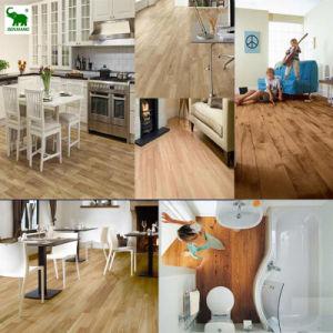 WPC Click Vinyl Floor Tile Laminated WPC Flooring