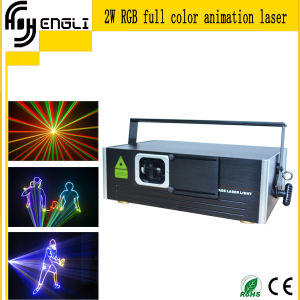 RGB 3D Animation Laser Stage Light (HL-J086) pictures & photos