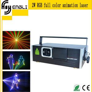 RGB 3D Animation Laser Stage Light (HL-J086)