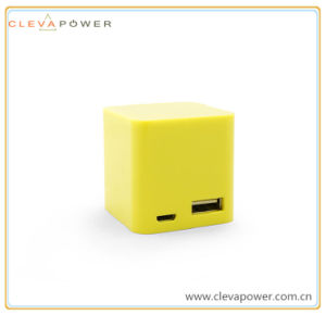 Cube Shape Smallest Size Power Bank with Candy Colors