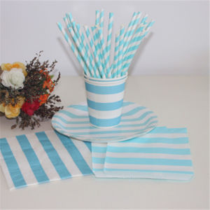 Food Grade Kraftpaper Straw Eco Friendly Paper Drinking Straw Wholesale pictures & photos