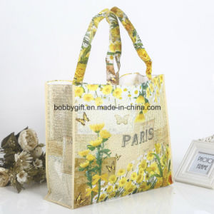 Eco-Friendly Handle Shopping Bag Lamination pictures & photos