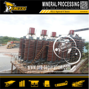 Gravity Ore Mineral Spiral Concentrator Machine Mobile Gold Processing Plant