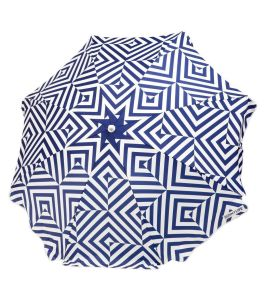 Fashionable Beach Polyester Canopy Umbrella with Complimentary Carry Bag pictures & photos