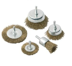 Hot Sale Kseibi Crimped Wire Brush Set with 6mm Shank pictures & photos