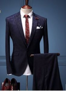 2016 Spring British Men Jacquard Cultivate One′s Morality Dress pictures & photos