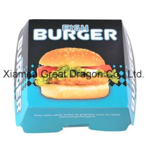 13cmx4cm Set of 6 Prefolded Boxes Burger Boxes (BB009) pictures & photos