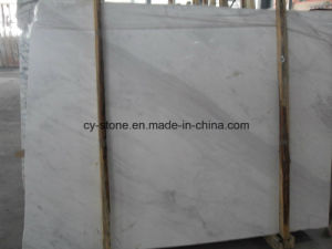 Building Material Volakas White Marble Slab for Floor/Wall/Countertops pictures & photos