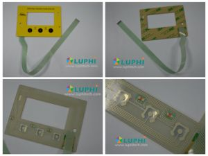 High Quality Customized LED Backlighting Membrane Switch (MIC-0028) pictures & photos