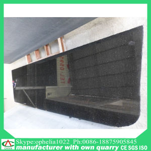 Polished Natural Stone Black Granite for Flooring Tile/ Slab/Countertop pictures & photos