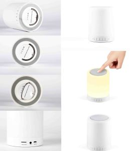 LED Light Color Change Bluetooth Speaker Lamp pictures & photos