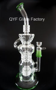 Glass Water Smoking Pipe Recycler Oil Rigs