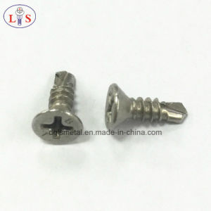 Stainless Steel 304 Countersunk Head Cross Recess Drilling Screw pictures & photos