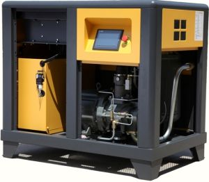 AC Power 10HP Lubricated Industrial Air Compressor pictures & photos