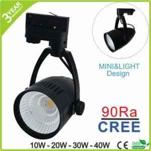 3 Phase Dimmable COB 50W 40W 30W 20W 10W LED Track Light