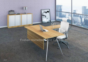 Simple Design Office Manager Director Executive Table Furniture (HF-YZM002) pictures & photos