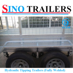3000kgs Steel Galvanized Agriculture Utility Dump Trailer pictures & photos