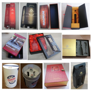 Custom Plain Printed Jewelry Gift Packaging Cardboard Boxes with Lid pictures & photos