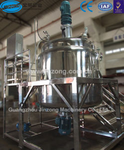 Jinzong Machinery Stainless Steel Vacuum Mixing Tank pictures & photos