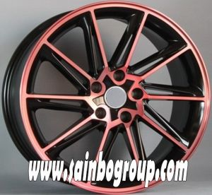 F1031 Hot Sale Vacuum Chrome Replica Alloy Wheels pictures & photos