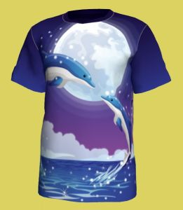 Good Quality/Custom T-Shirt, Full Sublimation Printing Crewneck T-Shirt, Heat-Transfer Printing T-Shirt pictures & photos