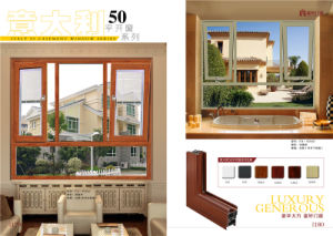 Aluminum Frame Tempered Glass Balcony Window Sliding Window pictures & photos
