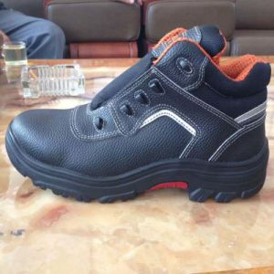 Professional Industrial Work PU/Leather Safety Shoes pictures & photos