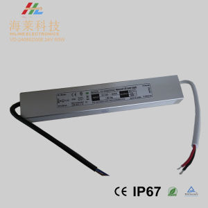 New Arrival Small Size Linear 24V 60wwaterproof IP67 LED Driver pictures & photos