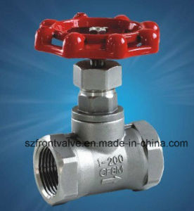 Precision Casting Stainless Steel Screwed Globe Valve pictures & photos