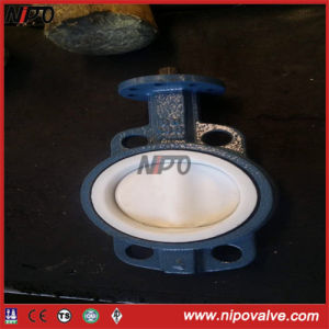 Lug Type Line with Rubber Butterfly Valve pictures & photos