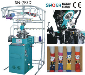 Sn-7f3d Full Automatic Single Cylinder Plain Socks Knitting Machine of High Speed pictures & photos