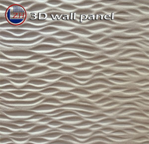Zhihua 3D Embossed Interior Decorative MDF Wall Panel Il07 pictures & photos