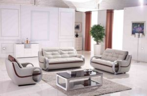 Modern Simple Leather Sofa Furniture pictures & photos