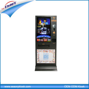Self-Service Ticket Vending Kiosk with Barcode Scanner pictures & photos