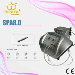 SPA8.0 Micro Nozzle Diamond Dermabrasion Machine for Skin Washing pictures & photos