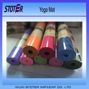 Hot Sale TPE/PVC/EVA/NBR Yoga Mat, Colorful Yoga Mat pictures & photos
