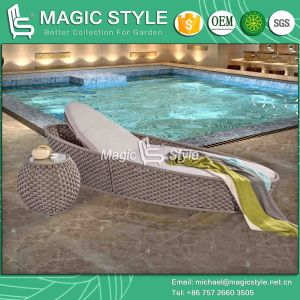 Iris Lounge Garden Furniture Beach Chair Rattan Bench Wicker Lounge (MAGIC STYLE) pictures & photos