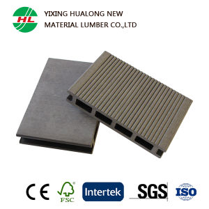 WPC Outdoor Flooring Wood Plastic Composite Decking for Swimming Pool (M139) pictures & photos