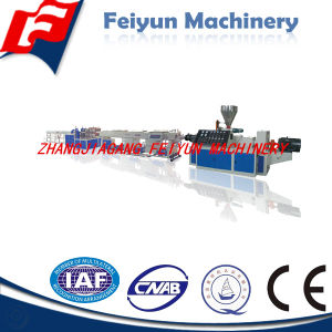 Plastic PVC Pipe Production Line/Extruder Machine pictures & photos